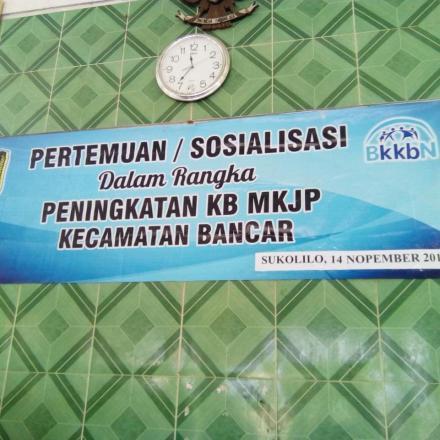 Album : Sosialisasi KB MKJP Desa Sukolilo